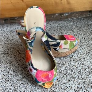 Adorable Nine West Wedges